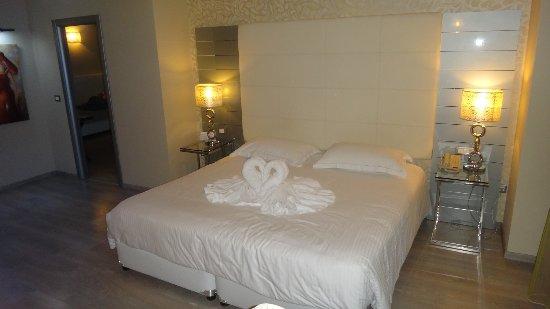 Atrium Platinum Hotel: Decoración luna de miel