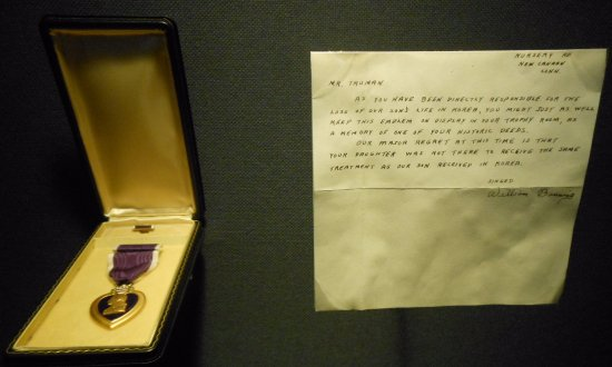 Independence, MO: Purple heart returned to Truman