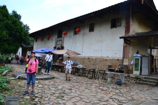 Hua'an County, China: Square Tulou
