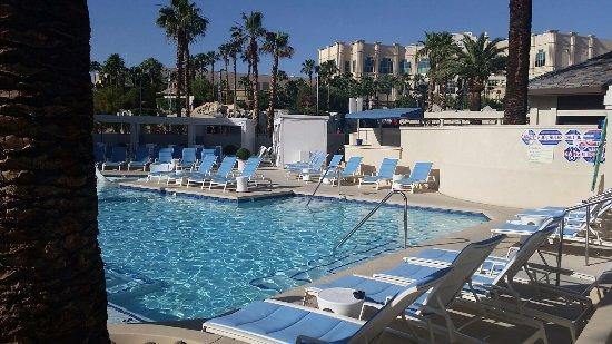 Delano Las Vegas Beach Pool At 8am On A Sunday