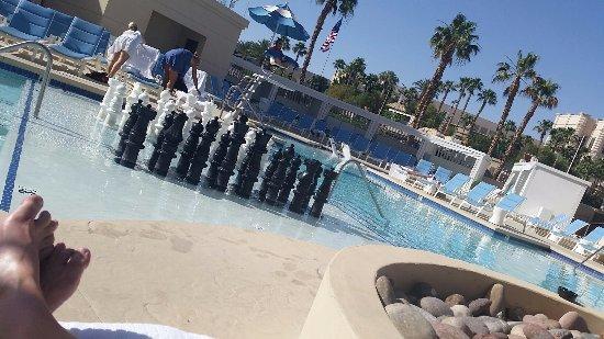 Delano Las Vegas Beach Club Chess