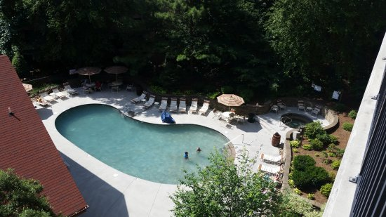 Holiday Inn Club Vacations Gatlinburg-Smoky Mountain: Pool area