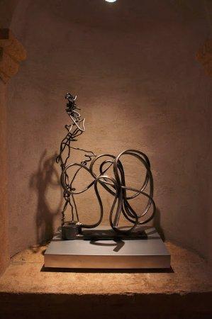 Rutherford, Califórnia: Artwork in Wine Cellar Hall
