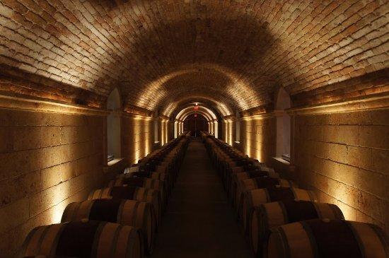 Rutherford, Califórnia: Wine Cellar Hallway