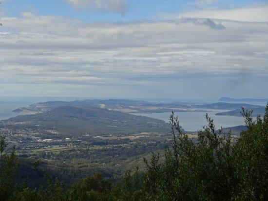 Mount Wellington: hobart city