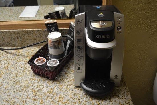 BEST WESTERN PLUS Caldwell Inn & Suites: Love the new Keurig