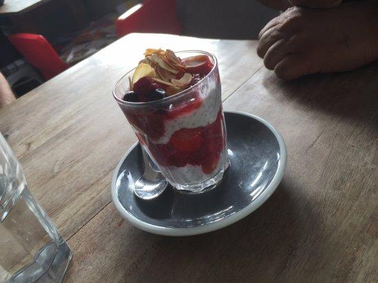 Sunshine Coast, Australia: Rhubarb yoghurt starter