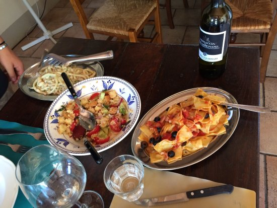 Tuscan Cooking Class: Our day making pasta and rabbit - a wonderful, warm and generous experience.