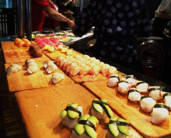 Vancouver, Waszyngton: Nigiri sushi