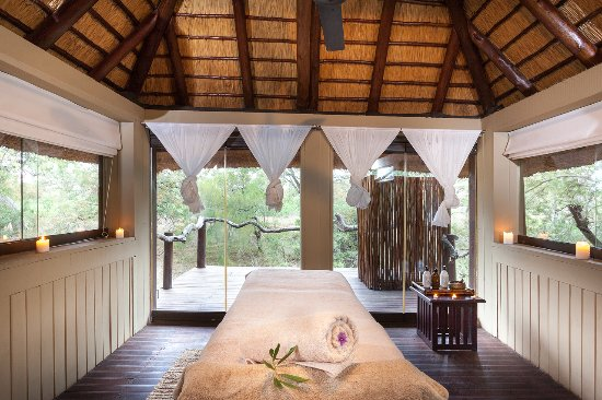 Simbambili Game Lodge: Spa