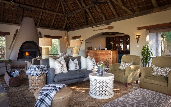 Simbambili Game Lodge: Lounge