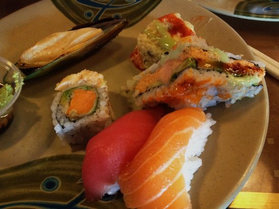 Vancouver, WA: sushi with mussel