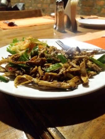 Mushroom Choila - The veg dish with non veg taste