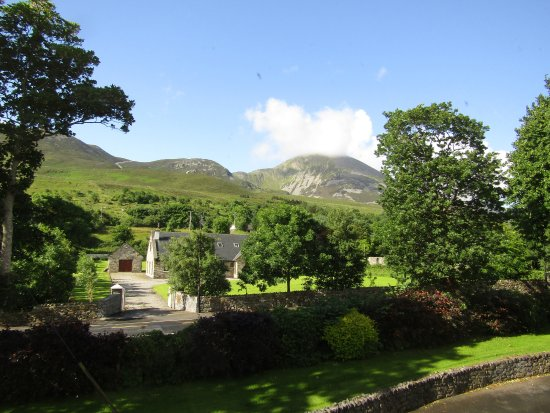 Elmgrove Bed & Breakfast: View of Croagh Patrick from Elmgrove