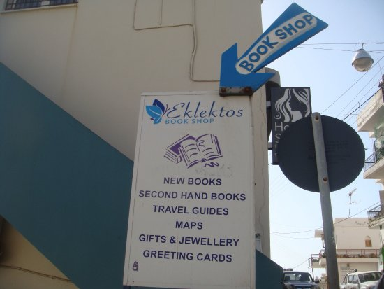 Eklektos Bookshop : Don't miss this friendly place