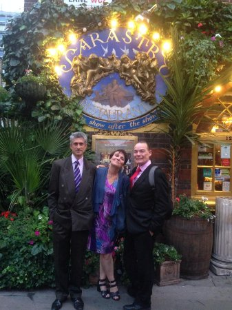 Sarastro : You have to experience this restaurant - spectacular gem hidden away on Drury Lane.