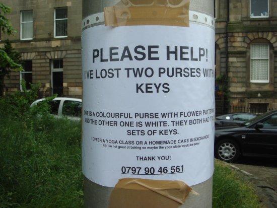 Rodney Street Apartments by Destination Edinburgh : si vous trouvez ce porte monnaie, le gateau sera peut être encore frais!