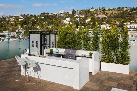 Penthouse bedroom picture of the london west hollywood for Kitchen 24 west hollywood