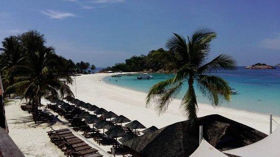 Laguna Redang Island Resort: view from dining