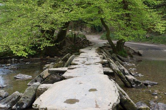 Exmoor National Park, UK : Tarr steps. Pretty location.