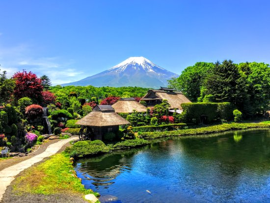 Shinjuku, Japan: Mt Fuji and Oshino Hakkai The World Heritage