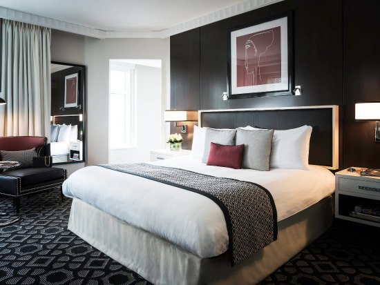Elegant guest room. This photo of Sofitel Washington DC is courtesy of TripAdvisor.