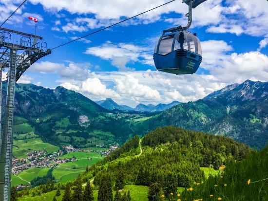 Bad Hindelang, Germany: Panoramagondeln Hornbahn Hindelang