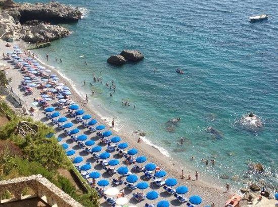 Il Saraceno Grand Hotel: Sea