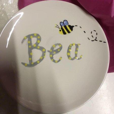 Lollipops Pottery Painting Studio Happy 1st Birthday Bea X