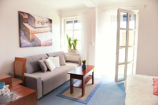 Hotel Bonsai Mikulov: dvoulůžkový pokoj