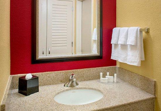 Wayne, Пенсильвания: Guest Bathroom Vanity