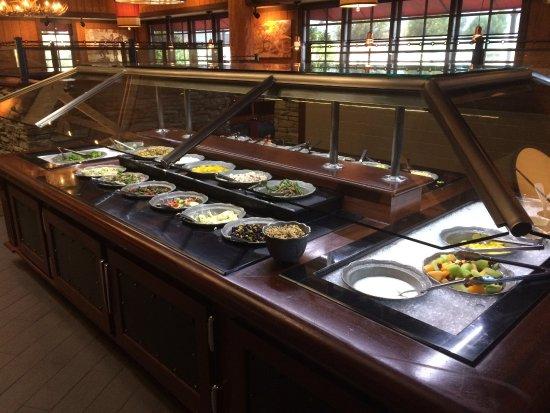 Salad Bar Picture Of Claim Jumper Restaurants Corona