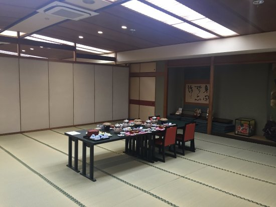 Gero Onsen Fugaku: Dining room for four people!