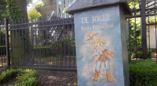 De Joker Bed & Breakfast : Welkom door De Joker