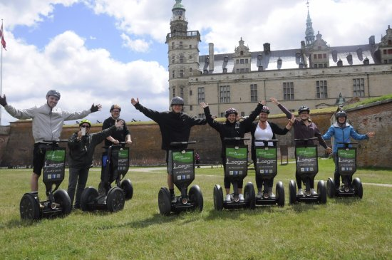 Segs - Segway Tours in Elsinore : Good times in Denmark at Helsingborg Castle. Thank you Segs DK!
