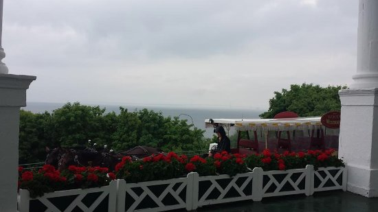 Grand Hotel: View from the front porch