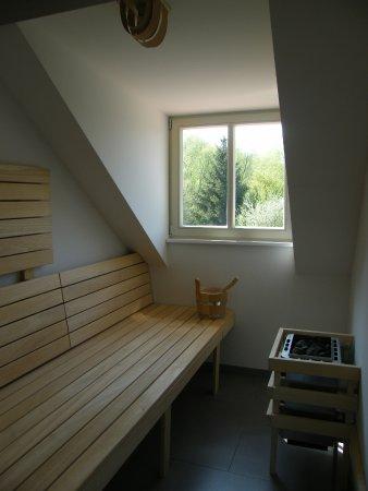 """Moderne Sauna sauna im apartment 2 """"die moderne"""" - picture of schloss reinharz"""