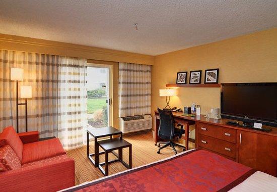 Σπρίνγκφιλντ, Όρεγκον: King Guest Room Living Area
