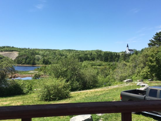 Sheet Harbour, Kanada: view from the deck