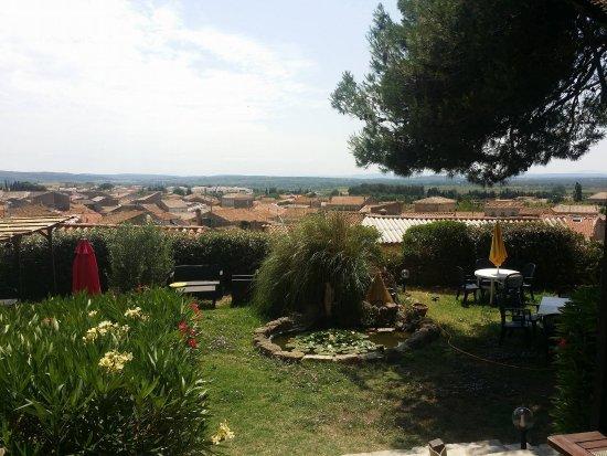 Lespignan, France : le jardin