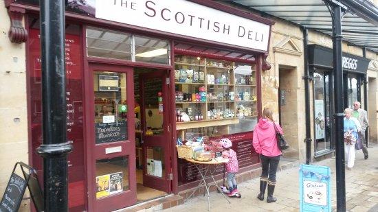 The Scottish Deli: Front of deli