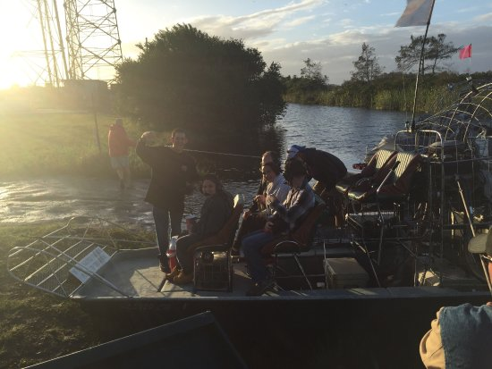 Everglades City, FL: Down South Airboat Tours