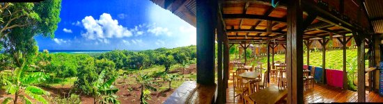 Little Corn Island, Nicaragua: View from the bar