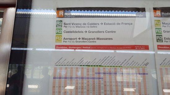 Hostal Orleans: Combinación en el Renfe para llegar a Estación de Francia
