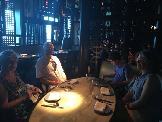 Hakkasan: Lunch at Hakasan, Miami at the Fountainbleau