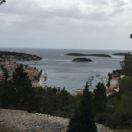 Hvar Fortress: View from the top