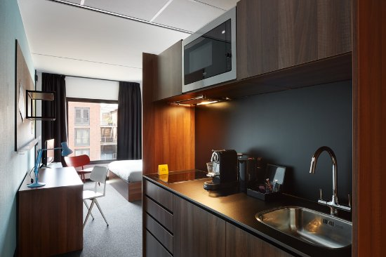 The Student Hotel Groningen Suite With Kitchenette