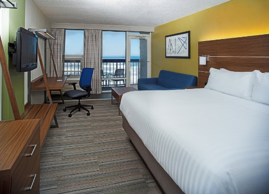 Holiday Inn Express Nags Head Oceanfront: Oceanfront Hotel Rooms in Nags Head