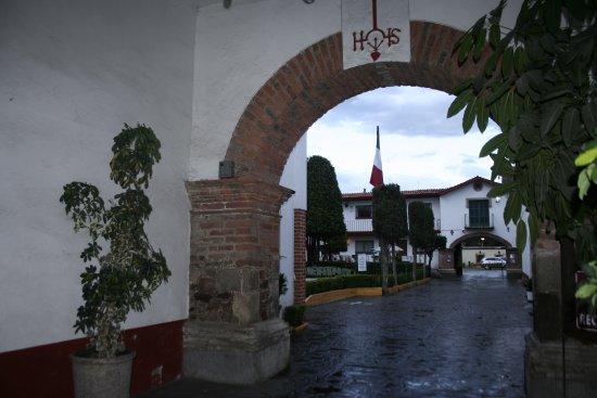 Texcoco, Mexico: Portal interior