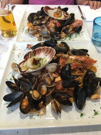 San Giorgio di Nogaro, إيطاليا: sotto ci sono anche le linguine